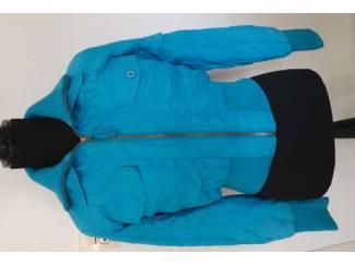 Blauwe cars jeans winter /voorjaar jas s (n931)