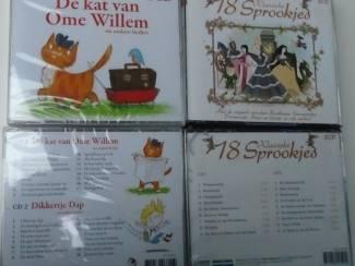 DE KAT VAN OME WILLEM  LIEDJES  en  18 KLASSIEKE SPROOKJES CD NIE