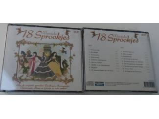 SPROOKJES 18 KLASSIEKE DUBBEL CD DOOS 24 stuks NIEUW