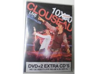 CLOUSEAU 10 X 10 LIVE IN HET SPORTPALEIS NIEUWE DVD CD 5099960820