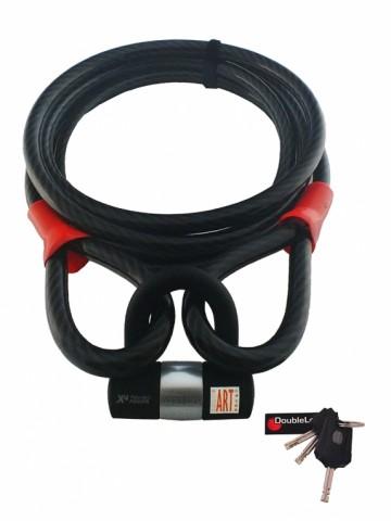 Doublelock Cable Lock BEAST 500 ART bootslot