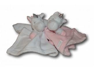 Speelgoed Unicorns met geborduurde naam