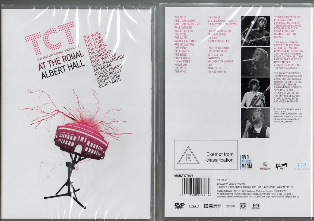 TEENAGE CANCER TRUST AT THE ROYEL ALBERT HALL NIEUWE DVD