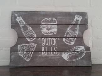 Kaasplankje van hout quick bites