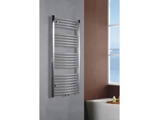 Sanifun handdoek radiator Medina Gebogen Centro 116 x 50 Chroom.
