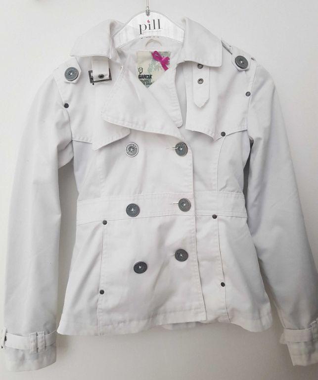 Kinderkleding Zomerjas.Witte Garcia Zomerjas 152 158 N1317 Kinderkleding