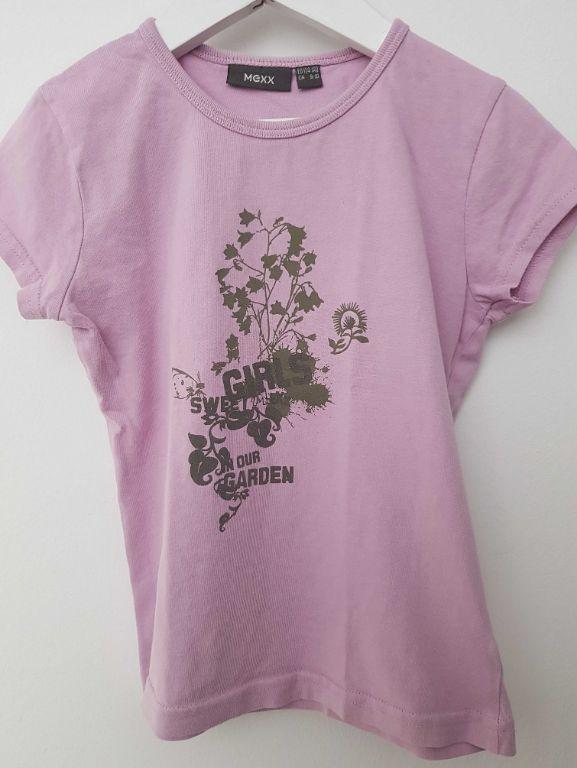 Lila mexx t-shirt 134-140 (n1328)