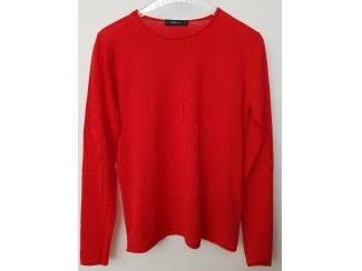 Rode Zara knit trui L