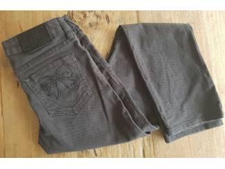 Grijze H&M spijkerbroek 164