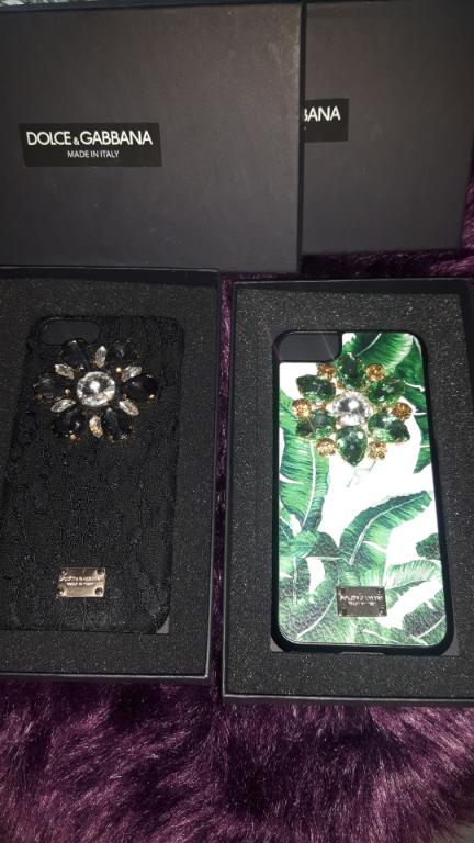 I phone i phone 7 8 hoesje cover Dolce Gabbana