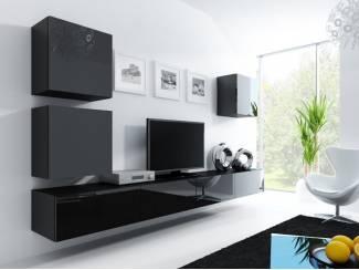 Compleet zwevend tv-wandmeubel diverse kleuren NU 499,- NIEUW