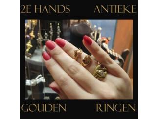 2e hands gouden trouwringen en verlovingsringen