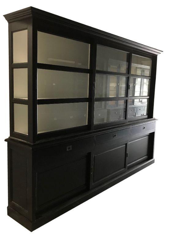 Buffetkast Putten Zwart Wit 300 X 220cm Soft Close