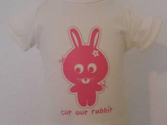 Hema t-shirt 62 konijn (n535)