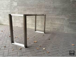 Rvs design bartafel poten onderstellen frames VANNA op maat
