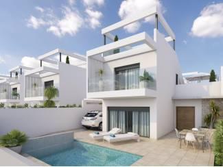 Villa gelegen op een van de mooiste golfressorts in Murcia