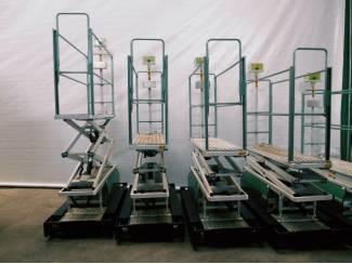 25 elektro buisrailwagens dubbel hydr. 55 cm