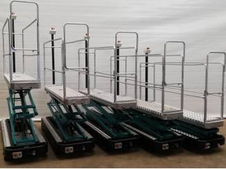13 elektro buisrailwagens dubbel hydr. spoor 50