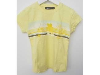 Gele Mexx T-shirt 122-128  Als nieuw!