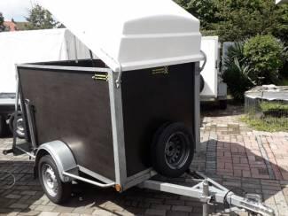 gesloten aanhangwagen BW trailer