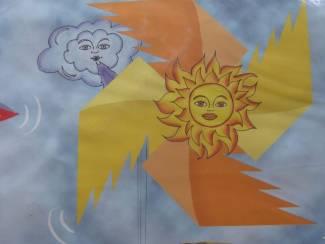 WINDMOLEN Zon en Wolken sonne en wolke NIEUW