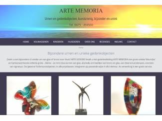 Urnen en gedenkobjecten van Arte Memoria