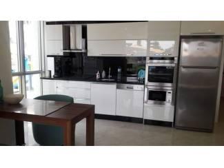 Buitenland gemeubileerd appartement in zeer luxe complex in Oba, Alanya