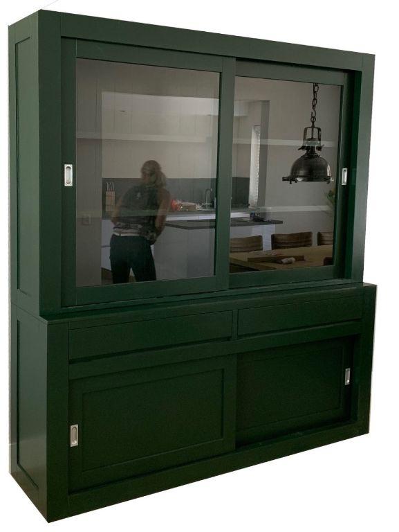 Buffetkast Design Soft Close Mosgroen 200 X 5040 X 220cm