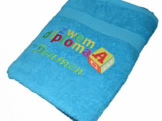 Zwemdiploma A handdoek met naam
