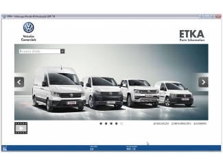 Accessoires en Tuning ETKA 8.1 02.2019 Onderdelenprogramma AUDI SEAT SKODA VOLKSWAGEN