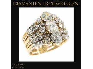 Een prachtige originele gouden trouwring