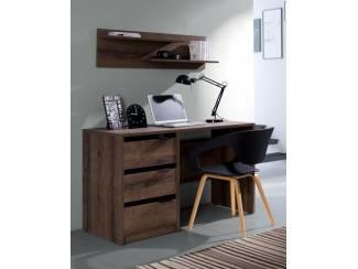 Modern bureau Denver met laden diverse kleuren NU 139,- NIEUW