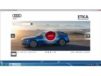 ETKA 8.1 02.2019 Onderdelenprogramma AUDI SEAT SKODA VOLKSWAGEN