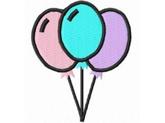 3 ballonnen voor borduurmachine