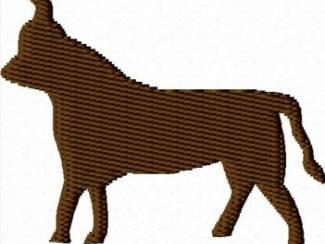Stier voor borduurmachine