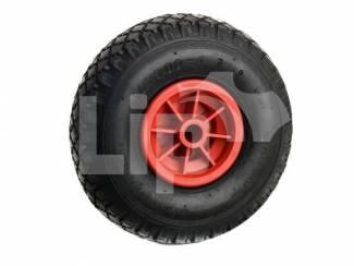 Bolderkarwiel bolderwagen bolderkar zonder lager 3.00-4 (260x85)