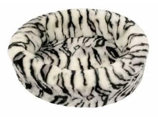 Petcomfort katten/hondenmand bont tijger wit
