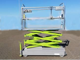 Elektro buisrailwagens 3 x hydr. spoormaat aanpasbaar