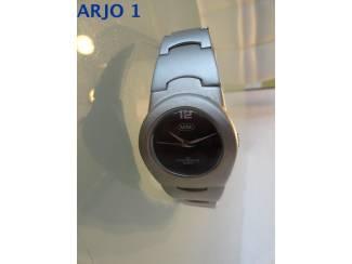 Horloges Herenhorloge - metalenkast nr 31 - GEEN VERZENDKOSTEN