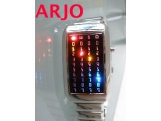 LED Digital Horloge, nr 987 - GEEN VERZENDKOSTEN