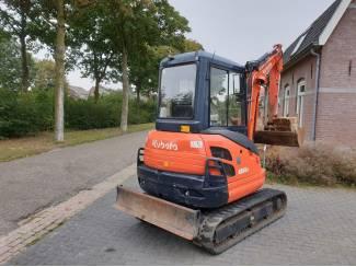 Bouwmachines Kubota KX61-3 minigraver bouwjaar 2014