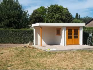 Tuinhuisjes, Blokhutten en Kassen Tuinhuis-Blokhut 2526 Z: 500 x 250 x 245 cm