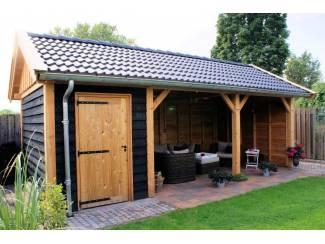 Tuinhuisjes, Blokhutten en Kassen Douglasvision zadeldak Prestige (83555) 700x400 cm