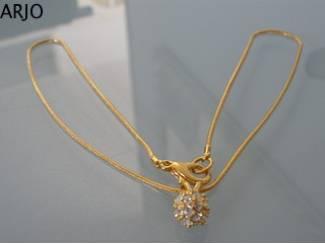 Vergulde gouden ketting nr 140 - GEEN VERZENDKOSTEN