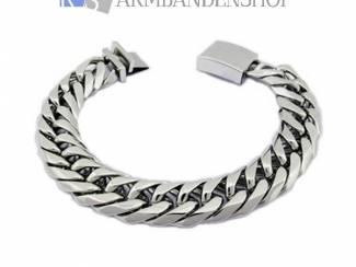 Sieraden heren armband van edelstaal rvs armbanden