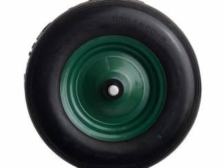Kruiwagenwiel anti-lek metalen velg 4.80/4.00-8