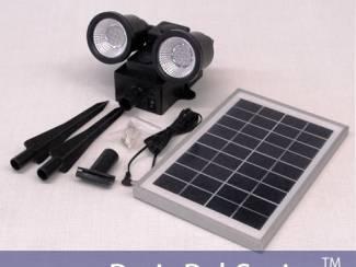 Security 96 LED Solar Flood Light van Merk: SecurePal