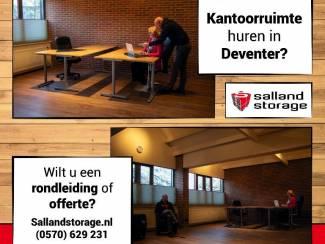Te huur: Kantoorruimte Deventer - Salland Storage