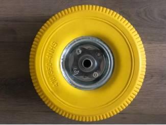 Steekwagenwiel met lekvrije band | antilek wiel 4.10/3.50-4