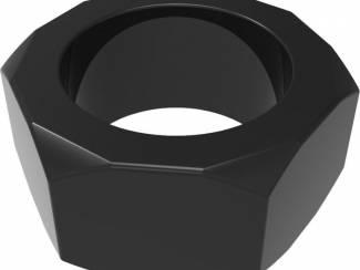 Zwarte Nut C-Ring